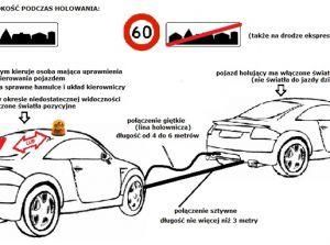 Holowanie samochodu przepisy