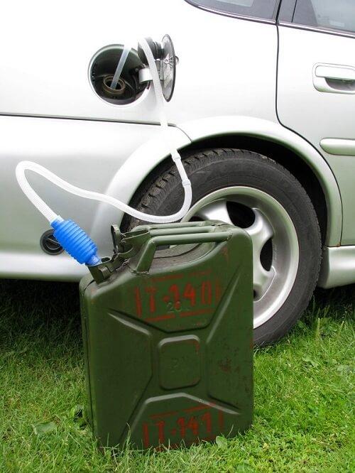 spuszczanie paliwa ze zbiornika Szczecin i okolice