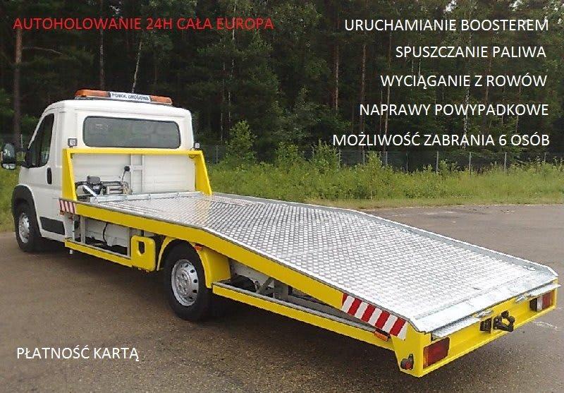 usługi pomocy drogowej w Szczecinie